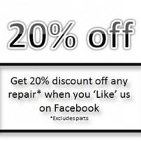 20% off Repair