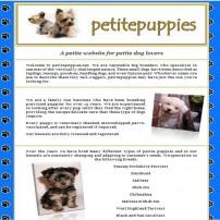 Petite Puppies