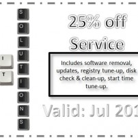 25% off service